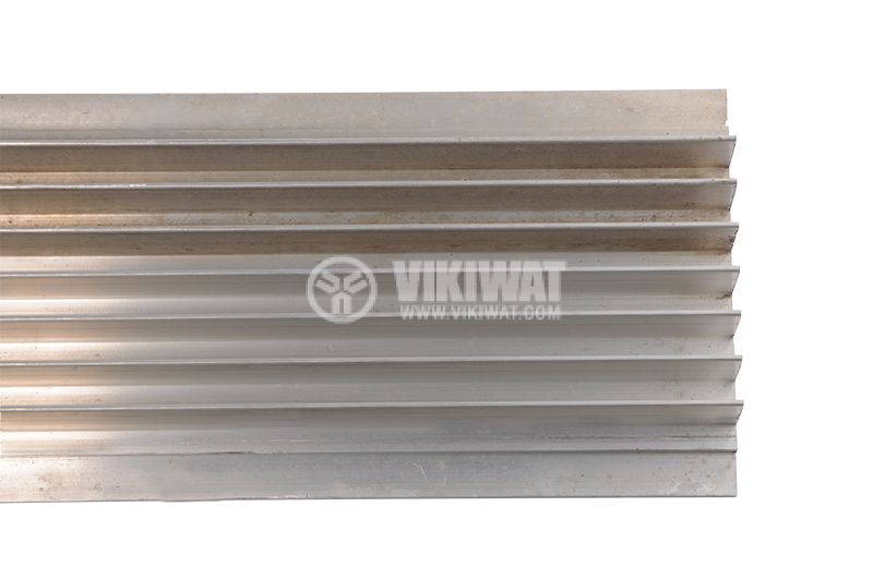 Aluminum profile for cooling, 1000x39mm - 2