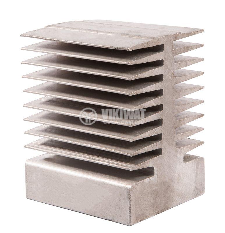 Aluminum radiator, cooling 80х95х70mm - 1