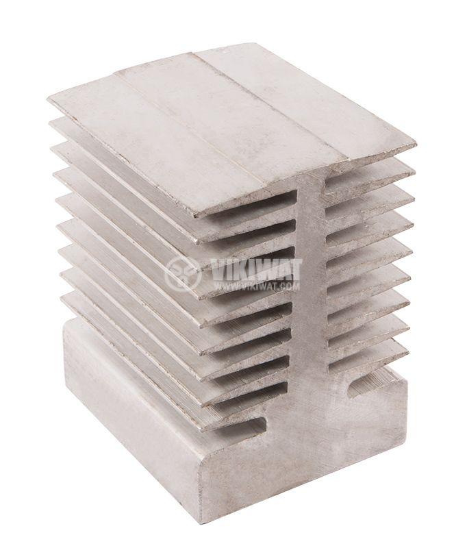 Aluminum radiator, cooling 80х95х70mm - 2