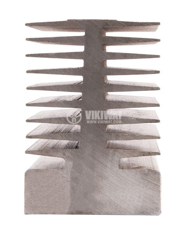Aluminum radiator, cooling 80х95х70mm - 3