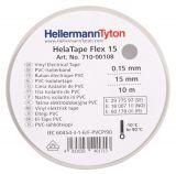 PVC изолационна лента HTAPE-FLEX15-15x10-PVC-GY, 15mm X 10m, сива - 2