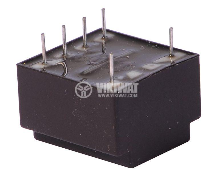 Трансформатор за печатен монтаж 230 / 2 х 6 VAC, 2 х 0.175 VA - 2
