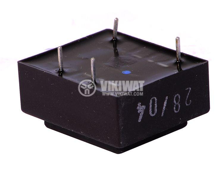 Трансформатор за печатен монтаж 230 / 7.5 VAC, 0.5 VA - 3