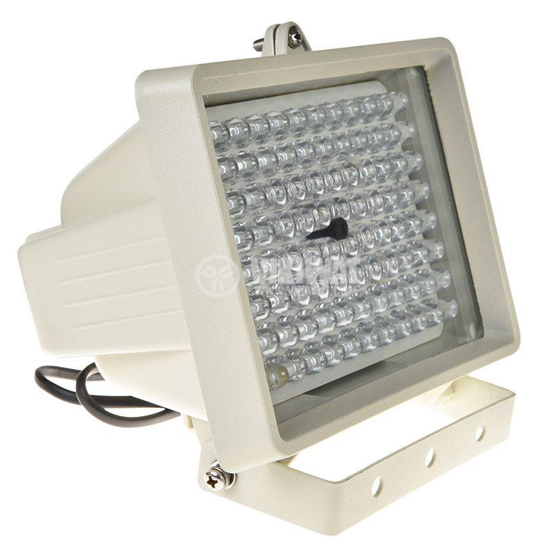 Инфрачервен прожектор P710A3K за видеонаблюдение, 220VAC, 100m - 2