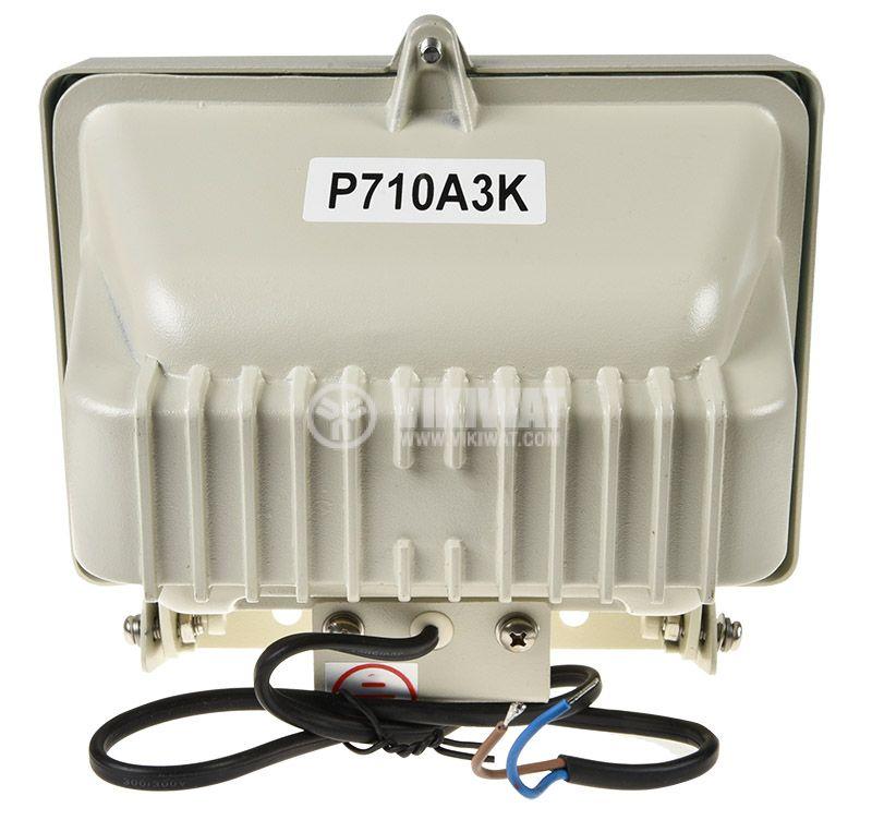 Инфрачервен прожектор P710A3K за видеонаблюдение, 220VAC, 100m - 4