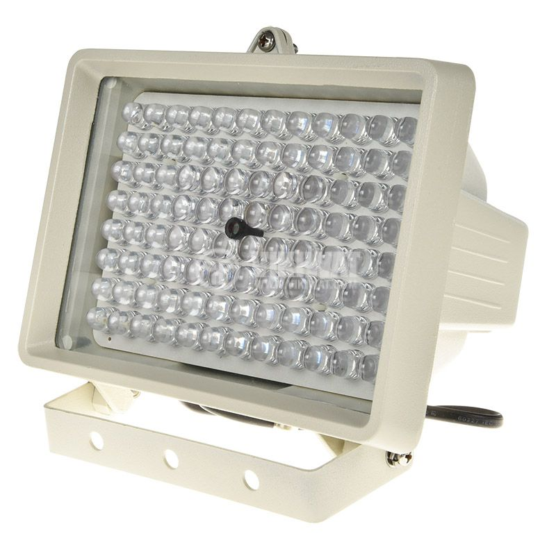 Инфрачервен прожектор P710A3K за видеонаблюдение, 220VAC, 100m - 5