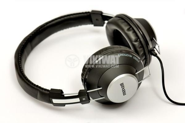 Headphones RetroDJ, stereo, stereo jack 3.5 mm with adapter 6.35 mm - 1