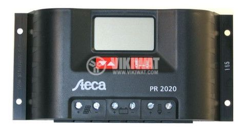 Controller for solar panel 2020 PR-20A 12/24V with display