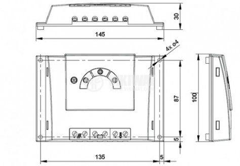 Контролер SOLSUM 10.10F-10А  - 2