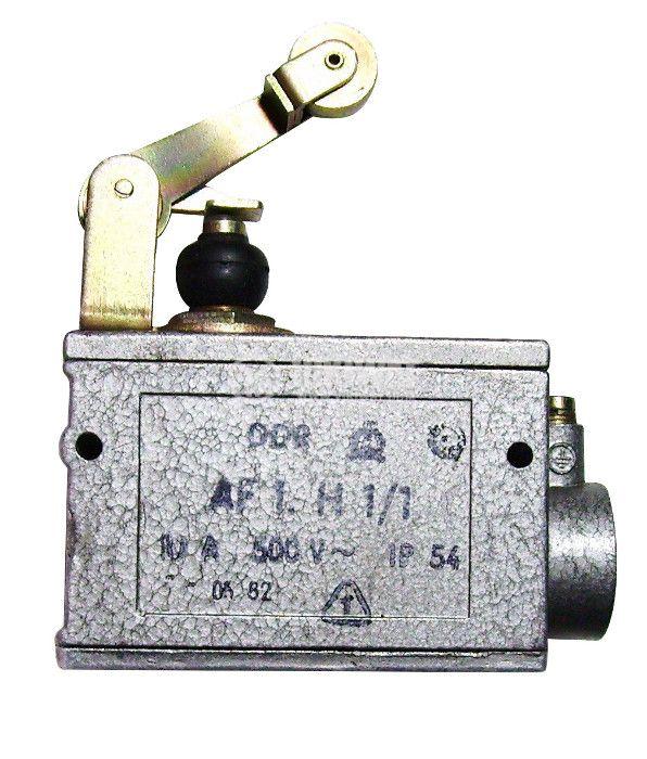Limit Switch AF1.H1/1, SPDT-NO+NC, 10A/500VAC, roller lever