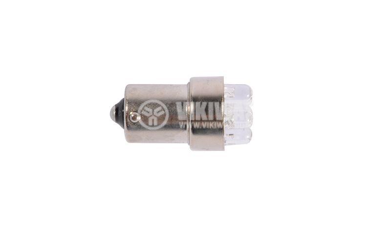 Автомобилна LED лампа, TARIFA, 24VDC, 20mA, BA15S, 6 светодиода - 2