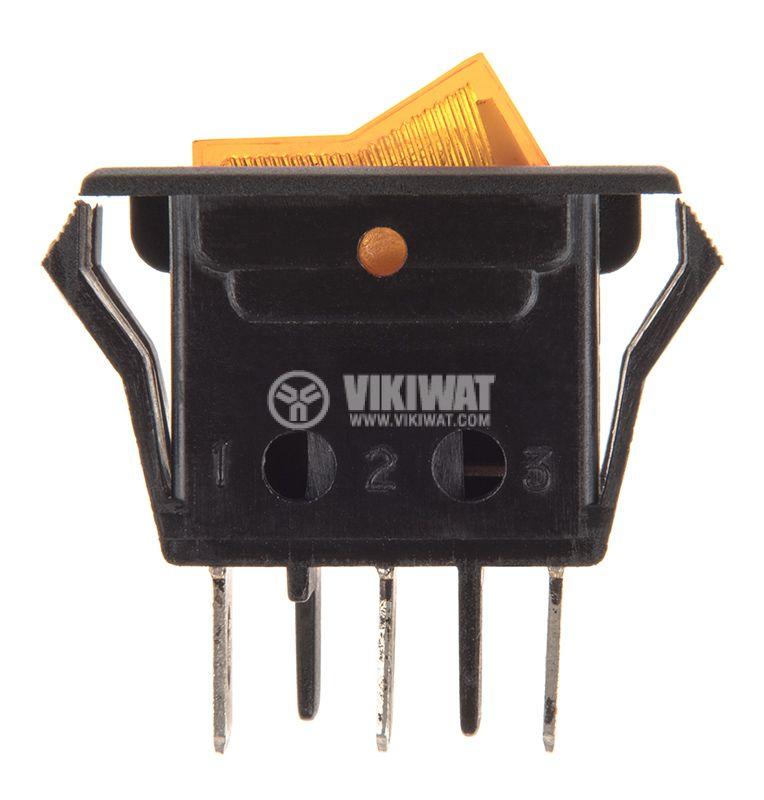 Клавишен превключвател 15А - 2