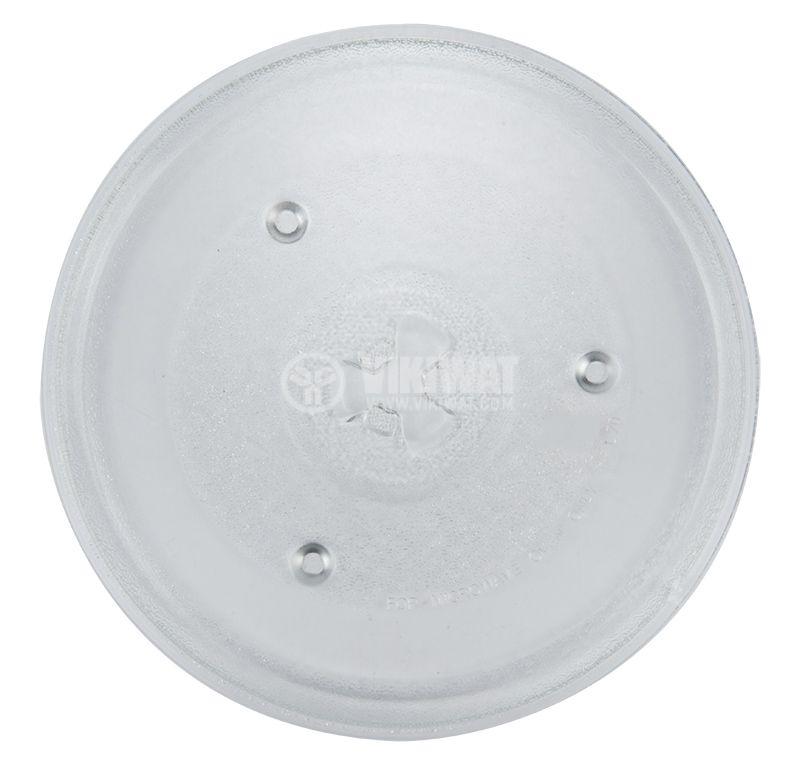 Чиния за микровълнови фурни и печки, Ф272mm - 1
