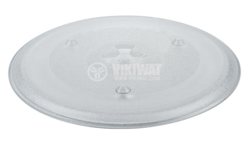 Чиния за микровълнови фурни и печки, Ф272mm - 3