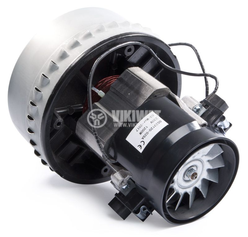 Motor for vacuum cleaners, GS23120-02SA, 1200W - 1