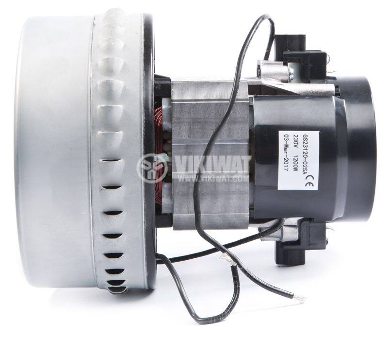 Motor for vacuum cleaners, GS23120-02SA, 1200W - 3