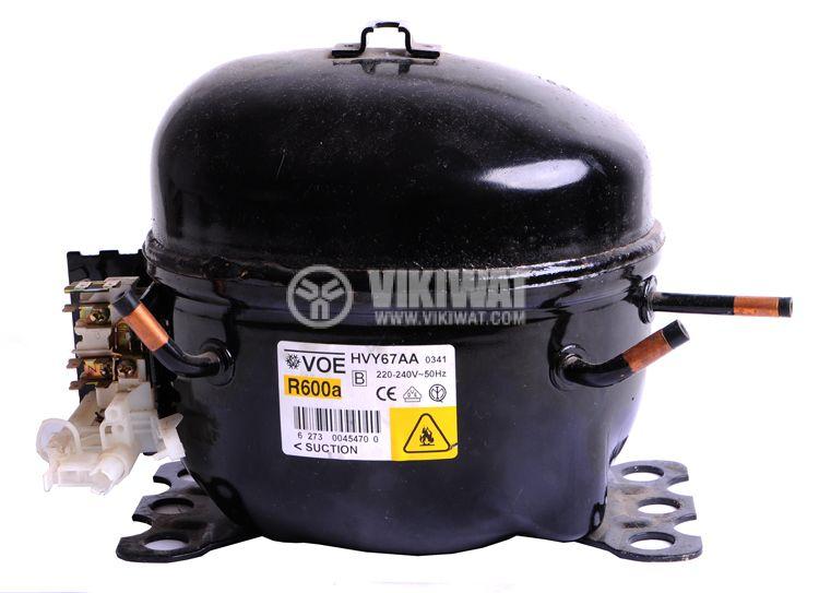 Fridge compressor VOE-HVY67AA R600a, 107W