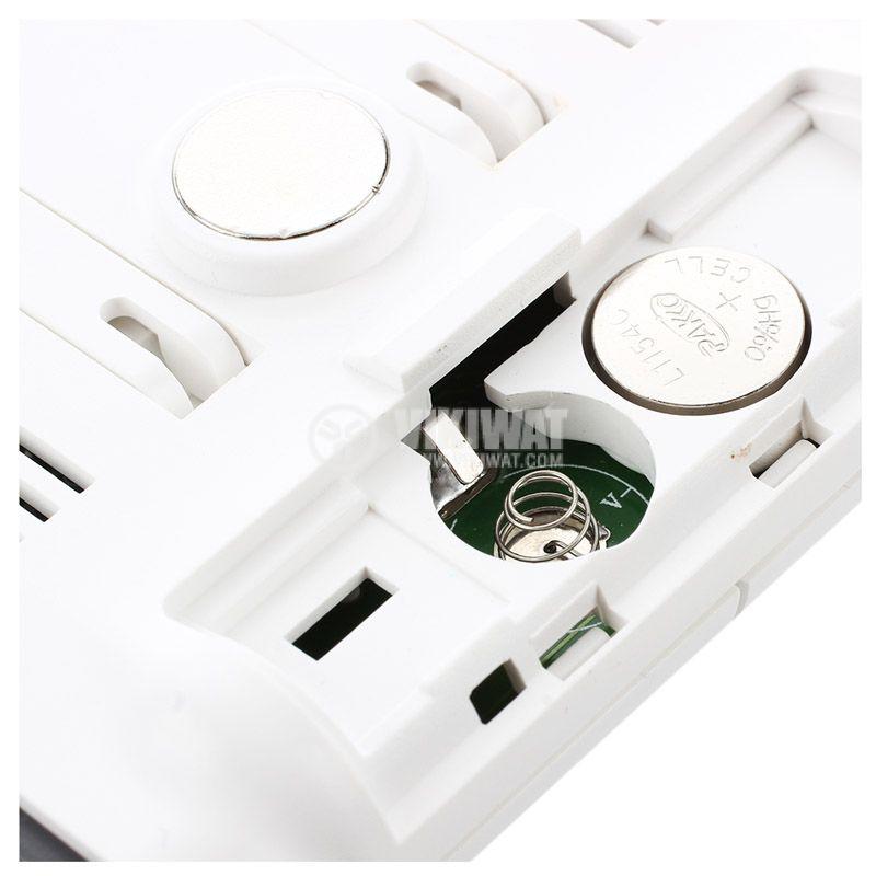 Дигитален термометър с хигрометър за външна и вътрешна температура DC103 - 5