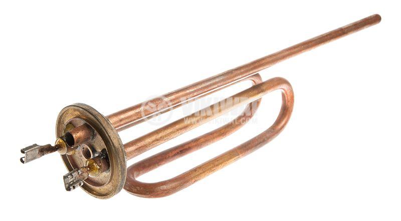 """Нагревател електрически, тръбен, 2.5kW, за бойлер """"Фламина"""" - 1"""