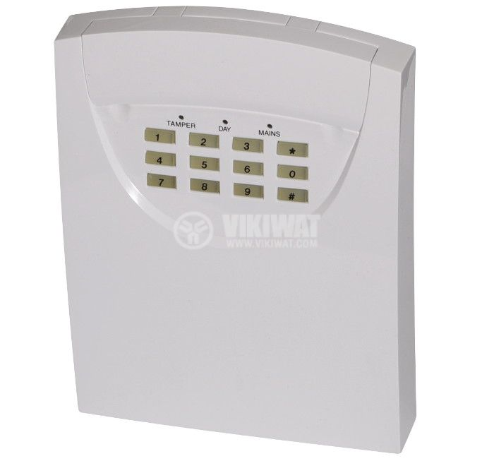 Security control panel S802 220VAC 12VDC/2 4Ah  - 1
