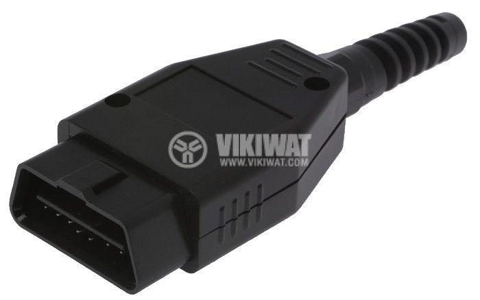 OBD Connector, 16 pins  - 1