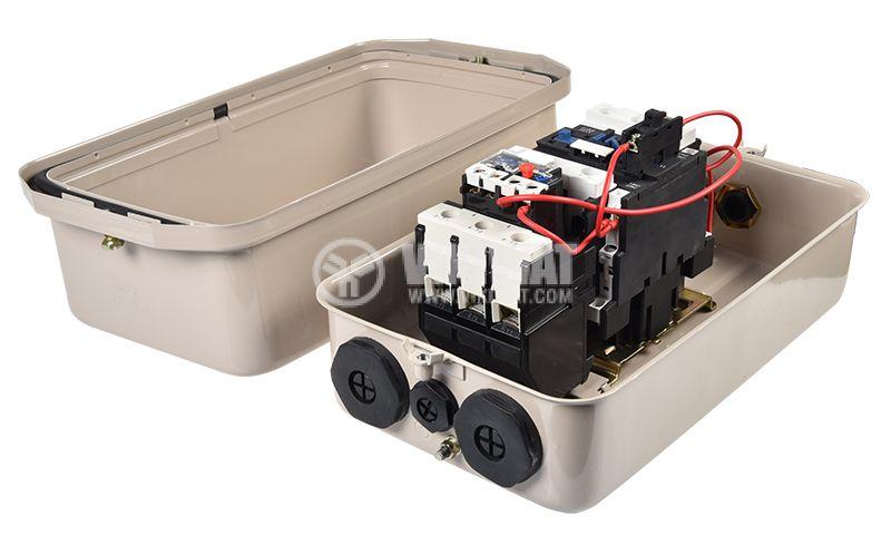 Motor Starter QCX2-40 220VAC 40A 30~40A - 5