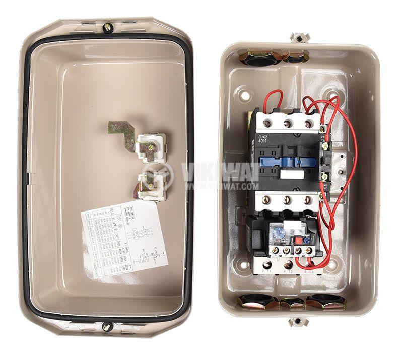 Motor Starter QCX2-40 220VAC 40A 30~40A - 6