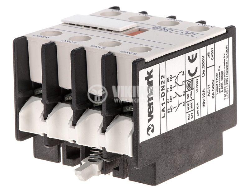 Спомагателен контактен блок, LA1-DN22 - 4