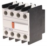 Contact block, LA1-DN22, 4PST - 2NO + 2NC, 6A/380V