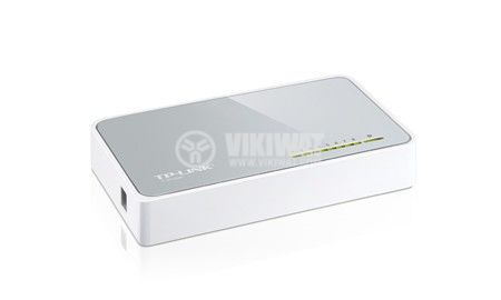 Мрежов комутатор TP-LINK, switch, TL-SF1008D, 200 Mbps - 3