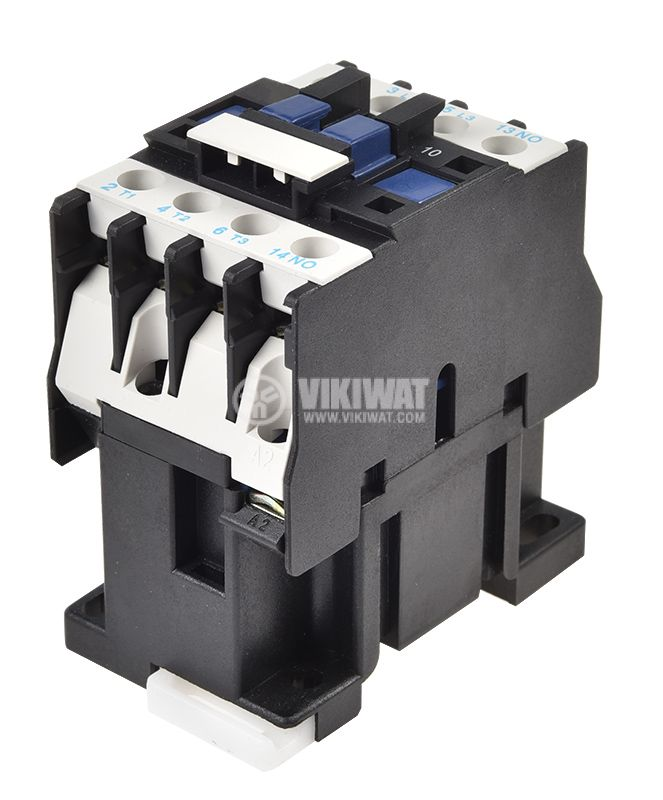 Contactor, three-phase, coil 220VAC, 3PST - 3NO, 12A, CJX2-D12, NO - 3