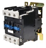 Контактор, трифазен, бобина 380VАC, 3PST - 3NO, 40A, CJX2-D40, NO+NC
