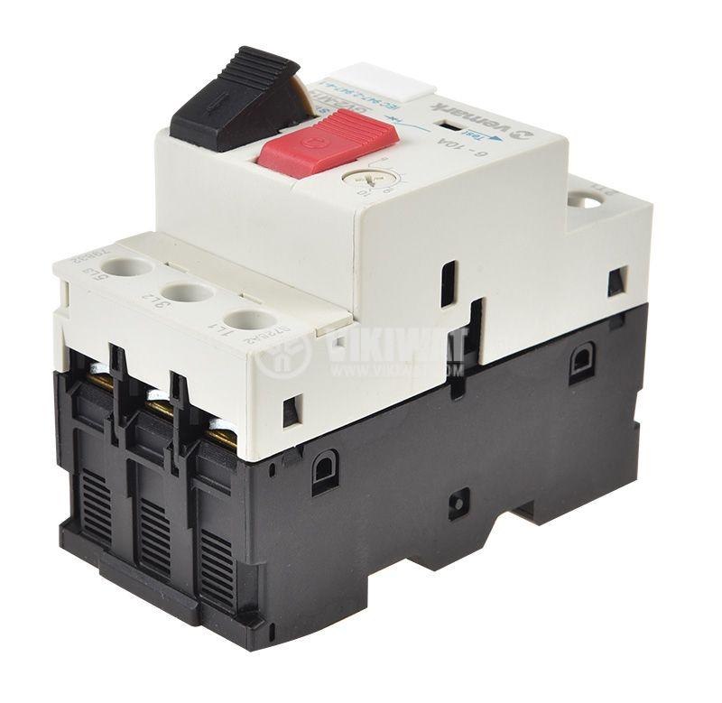 Моторна защита по ток, (АТ00) DZ518-M14, трифазна, 6-10 A - 3