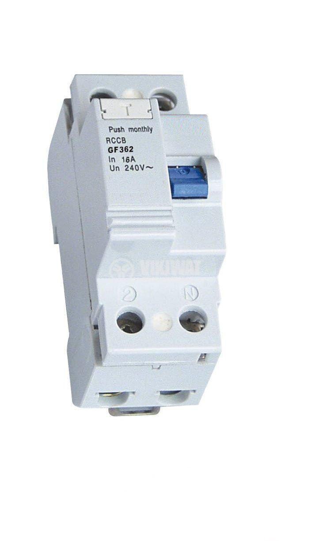 Дефектнотокова защита CDL10LE-63, 230 VAC, 16 А, 30 mА - 1