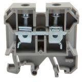 Редова клема, едноредова, JXB-2.5/35, 2.5mm2, 24A, 800V, сива