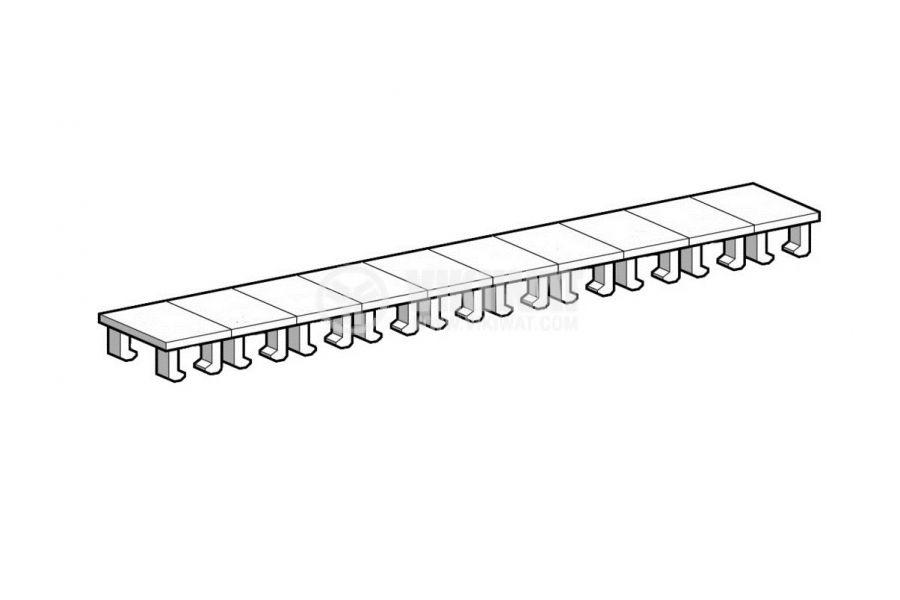 Обозначителна табела за редова клема, 10 броя