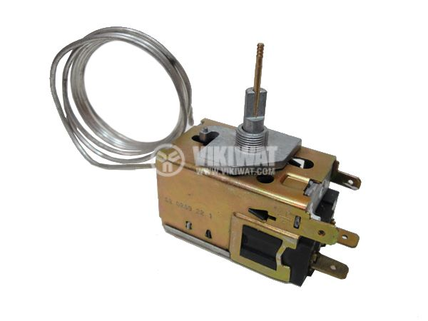 Capillary thermostat К60 P1129, -22 °C to +7 °C, NC, 6 A / 250 VAC