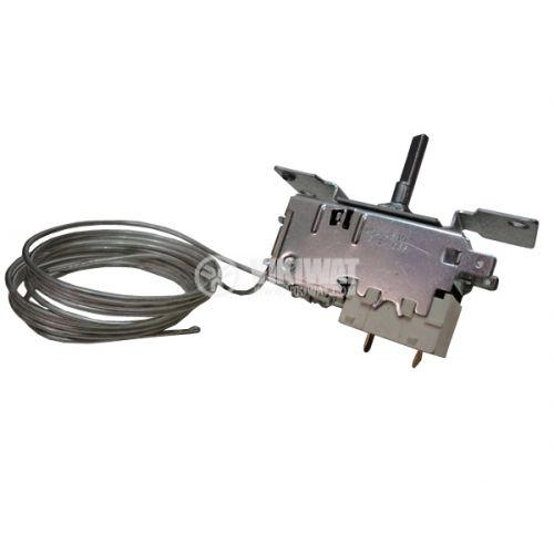 Терморегулатор, капилярен, K52-L4510, -14.5°C +3.5°C, NC, 6 A / 250 VAC , двукамерен - 2