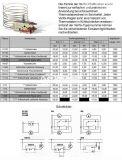 Capillary thermostat  К60 P1129, -22 °C +7 °C, NC, 6 A / 250 VAC