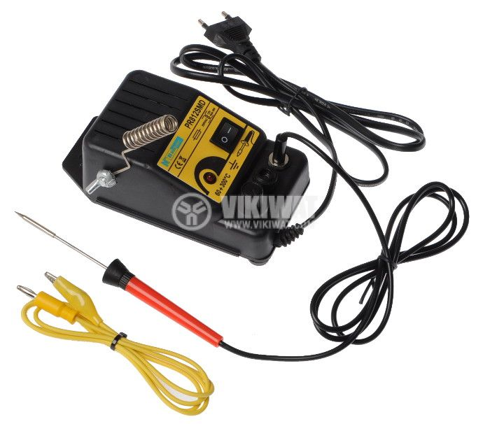 Soldering iron, heating, PR812SMD, 12VDC, 8W, with adapter , 60-300 ° C, straight tip