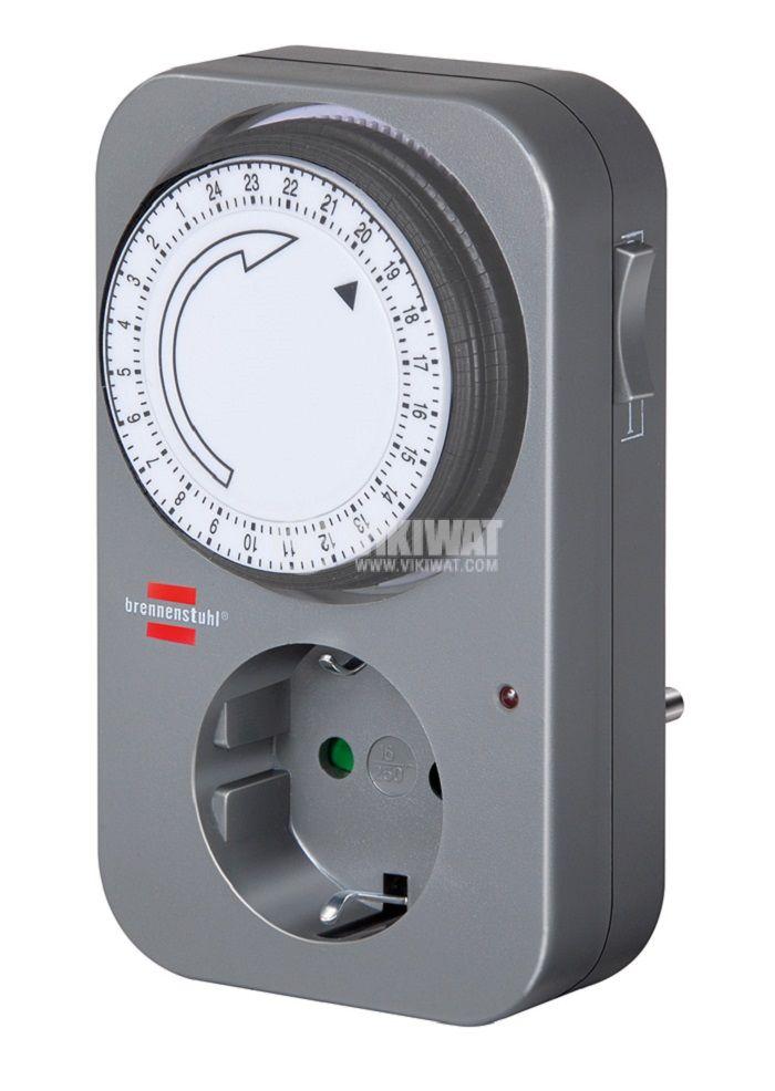 Mechanical Quartz Timer MZ 20-1, 220 VAC, 16 A, 3500 W