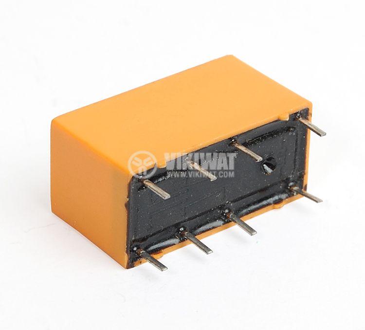 Реле електромагнитно бобина 24VDC 125VAC/1A DPDT - 2NO+2NC JRC-19F - 2