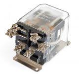 Реле електромагнитно, JQX-63F , бобина 24VDC 250VAC/63A DPDT 2NO+2NC - 1