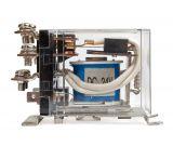 Реле електромагнитно, JQX-63F , бобина 24VDC 250VAC/63A DPDT 2NO+2NC - 3
