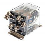 Реле електромагнитно JQX-63F, 220VАC 250VAC/63A DPDT 2NO+2NC