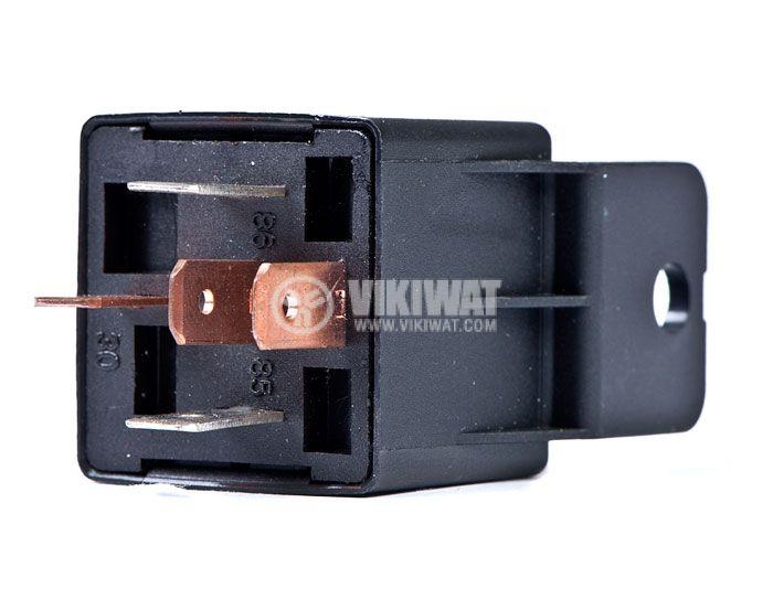 Реле, автомобилно, електромагнитно, AS403, 12VDC, NO+NC, NO-14VDC/30A, NC-14VDC/20A  - 2
