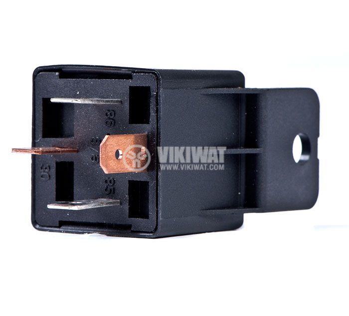 Реле, автомобилно, електромагнитно, AS403, 12VDC, SPST-NO, 14VDC/30A - 3
