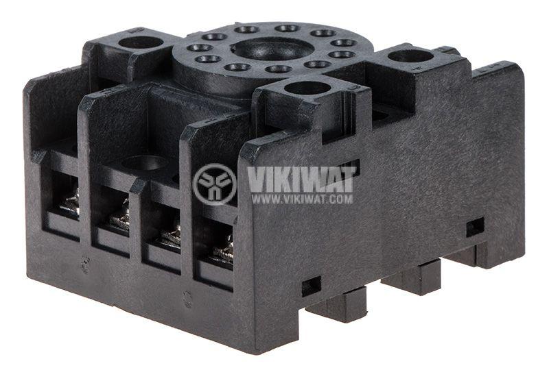 Цокъл за реле PF113A 300VAC 10А 11pin - 5