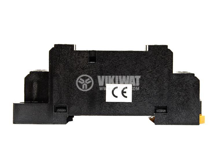 Цокъл реле PТF08A-Е, 10 А, 300 VAC, 8pin - 4