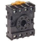 Цокъл за реле, PF083A-E, 300VAC, 10А, 8pins, за DIN шина - 2